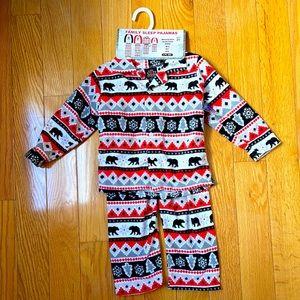 Family Pajamas Kids size2 Holiday Edition